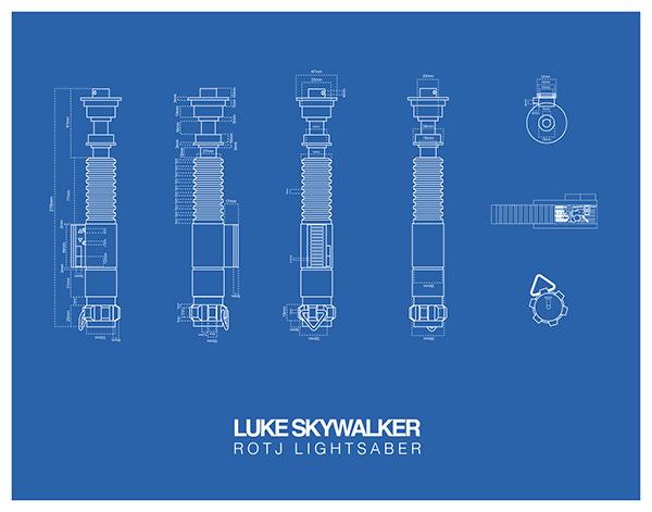 Wars Blue Star Lightsaber