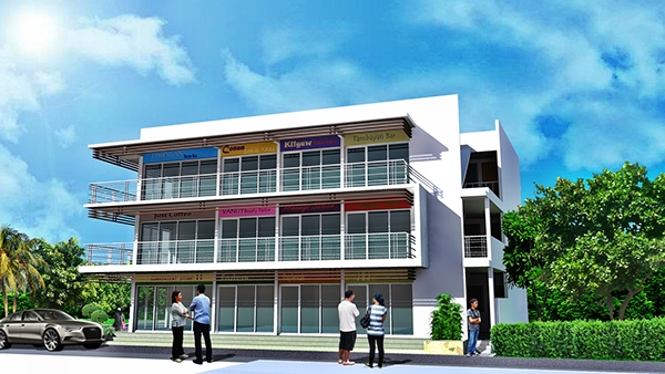 Design 3 Storey Commercial Building