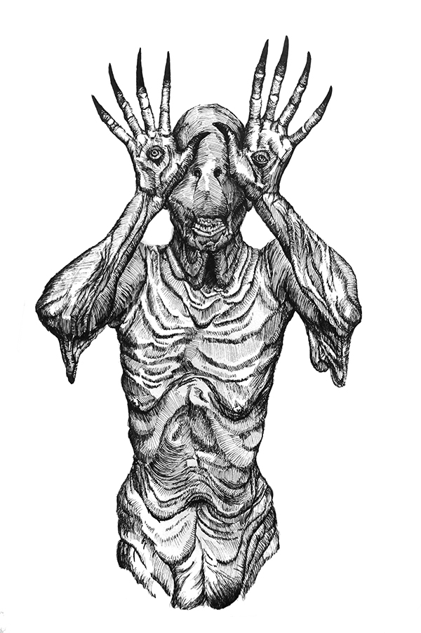 Pans Labyrinth Drawing