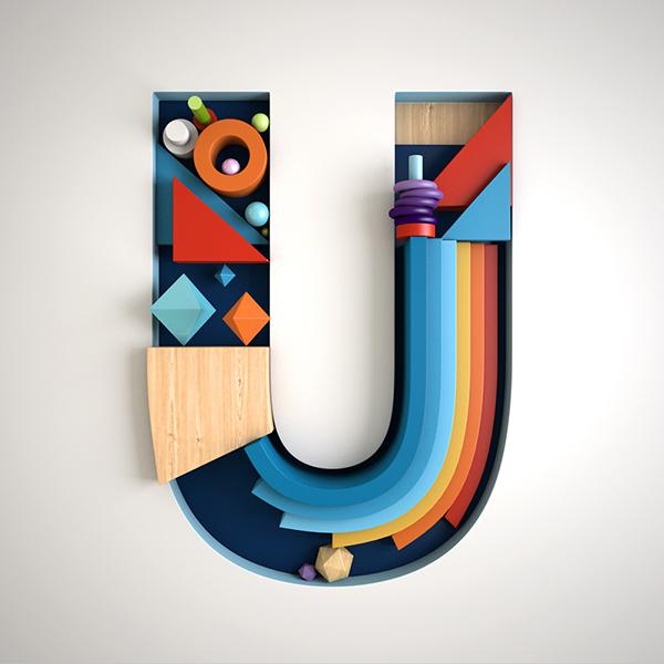 creative alphabet letters - 600×600