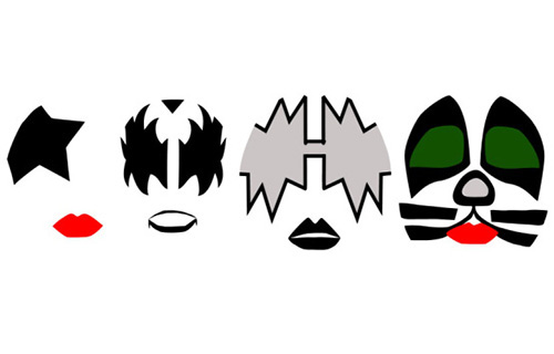Kiss Rock Band Clip Art
