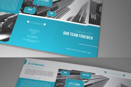 Indesign Template A4 trifold brochure on Behance This is the easiest way to create your A4 trifold corporate brochure with  the minimum knowledge of Adobe Indesign  Just place your photos  type your  text