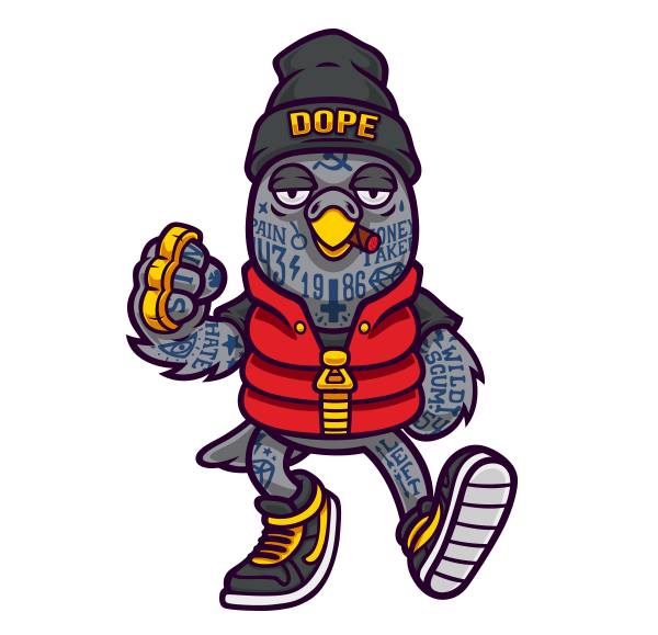 Dope Cartoon Characters House