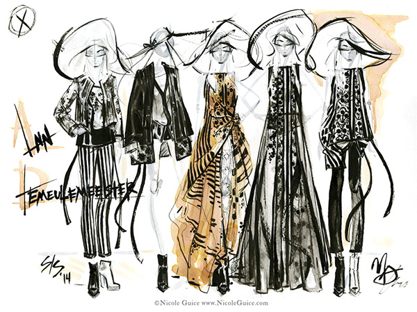 Fashion Illustration on Behance