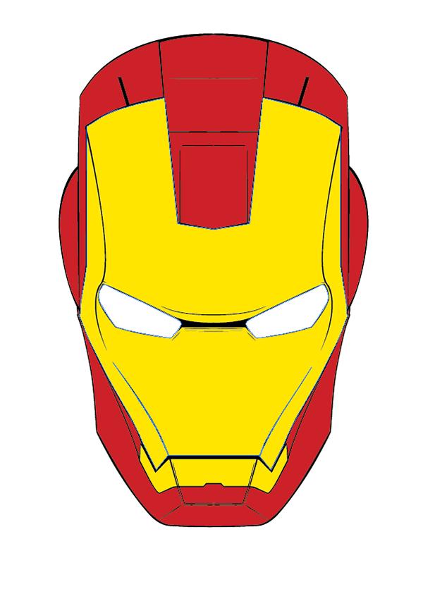 Iron Man melty mask on Behance