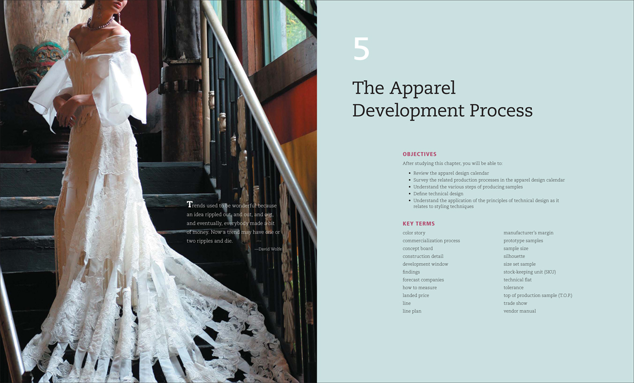 Portfolio of Jennifer Holzner   Textbook Interior Design The objective of this project was to create a high end  contemporary look  for a fashion design textbook that was not only pleasing to view  but also  easy to