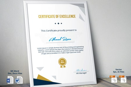 PSD Certificate Template on Behance Thanks for Watching
