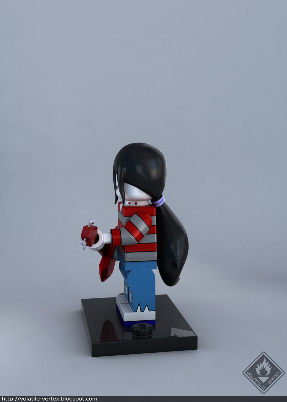 LEGO Marceline minifig on Behance Thank You