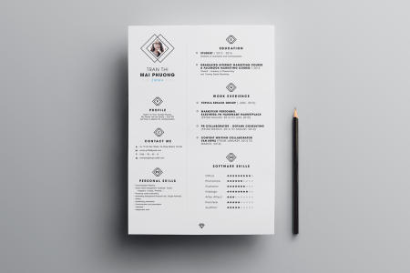 FREE Resume Template on Behance