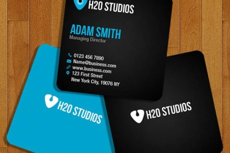 Free Square Business Card Template on Behance Here is free square business card template with minimal design  It is ready  for use and just replace your text and logo and you are done