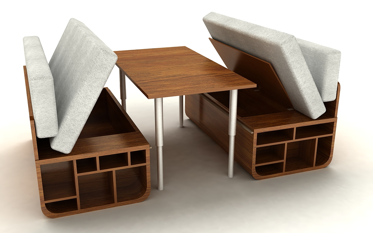 Coffee Table Chairs Underneath