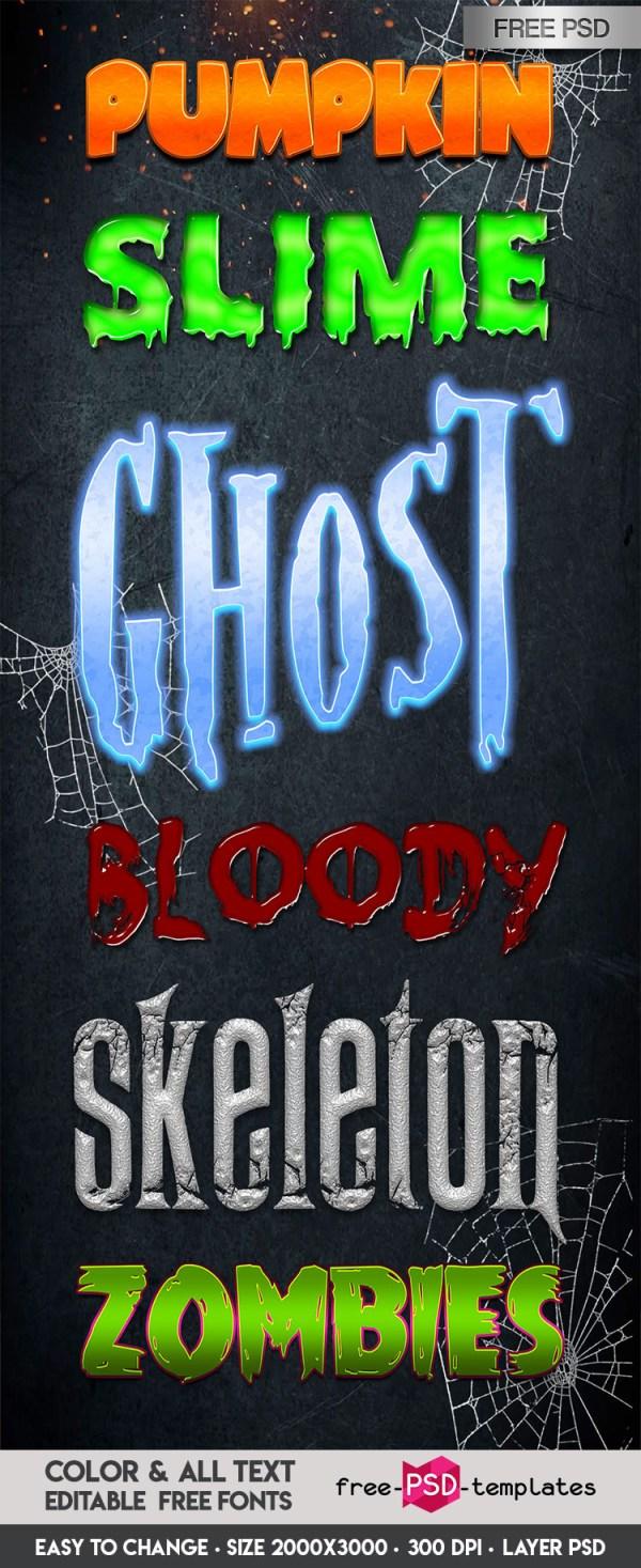 free halloween fonts # 53