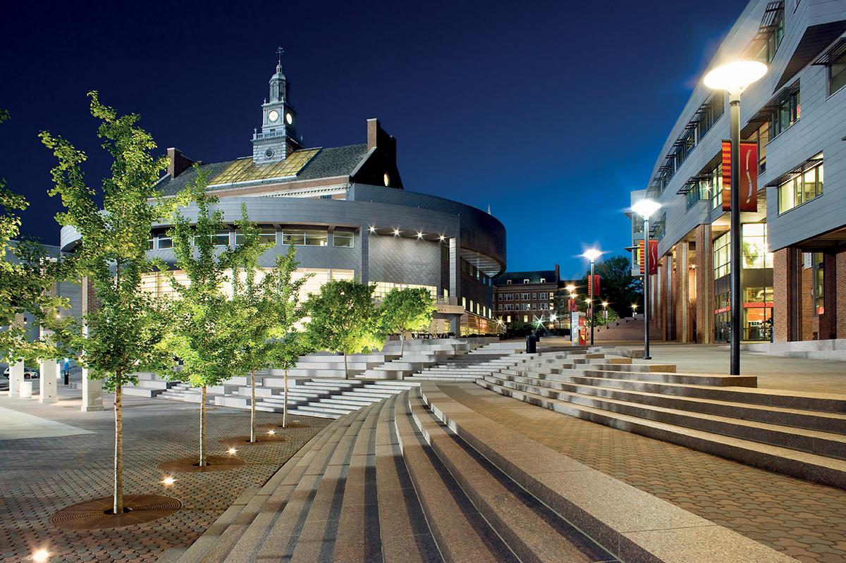 University Cincinnati Hargreaves Landscape Design