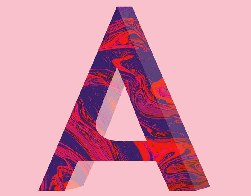 creative alphabet letters - 808×632