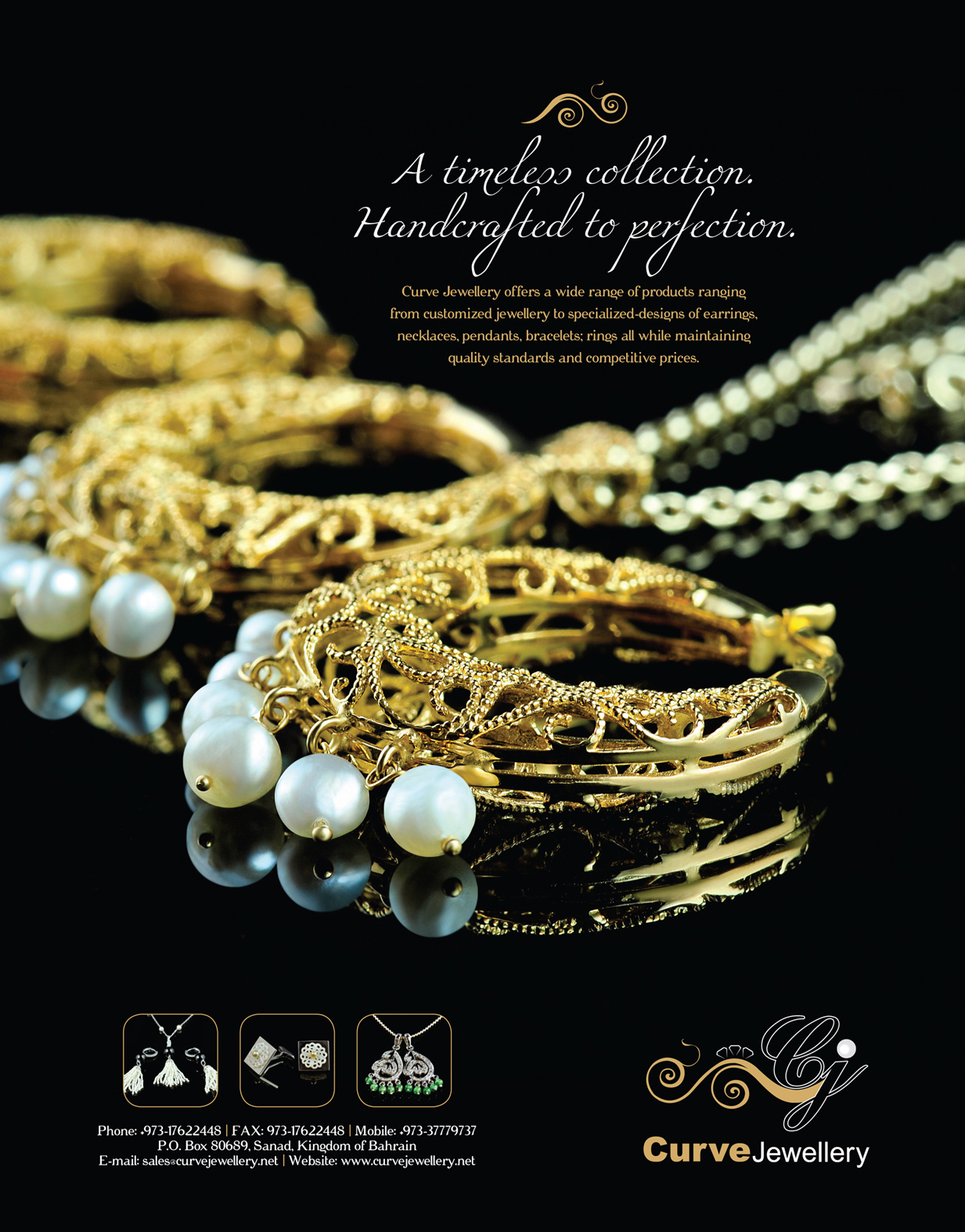 Mira Jewelry Collection