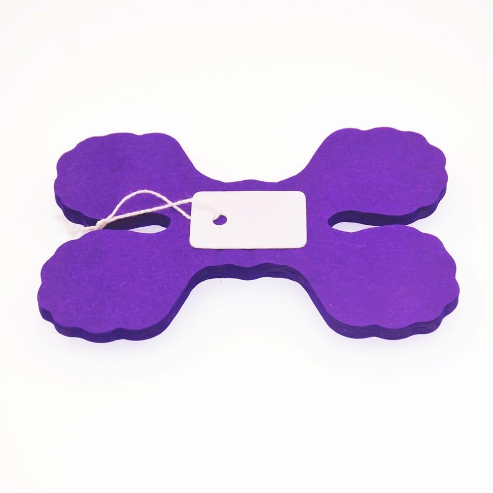 Dark Purple Paper Napkins