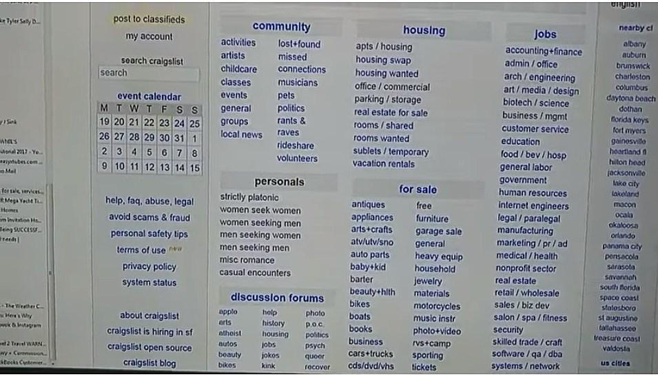 Craigslist personal panama