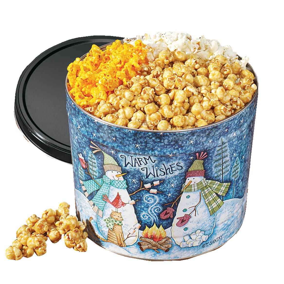 Personalized Popcorn Tin