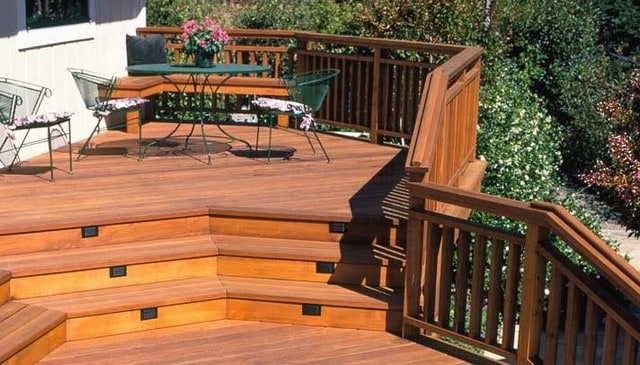 100S Of Deck Railing Ideas And Designs | 2 Inch Round Wood Handrail | Stair Parts | Outside Diameter | Stair Treads | Handrail Brackets | Oak Wood