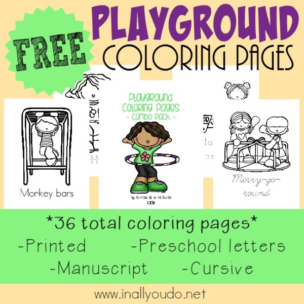 playground coloring pages # 64