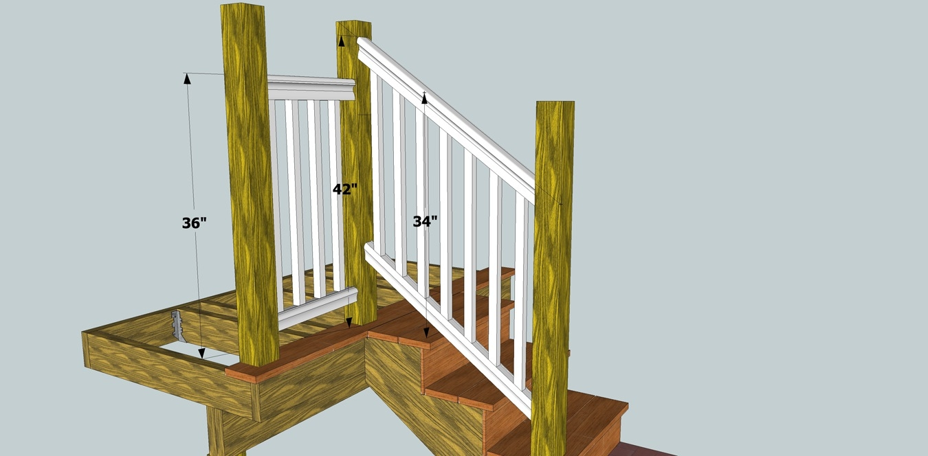 Solving Porch Problems Thisiscarpentry | Installing Deck Stair Railing | Outdoor Stair | Baluster | Railing Ideas | Stair Treads | Stair Stringers