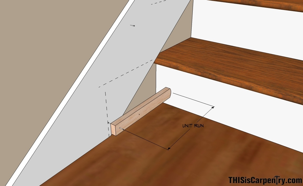 Scribing Skirt Boards Thisiscarpentry | Installing Hardwood Stairs Over Existing Stairs | Prefinished Stair | Stair Tread Caps | Carpeted Stairs | Wood Flooring | Treads
