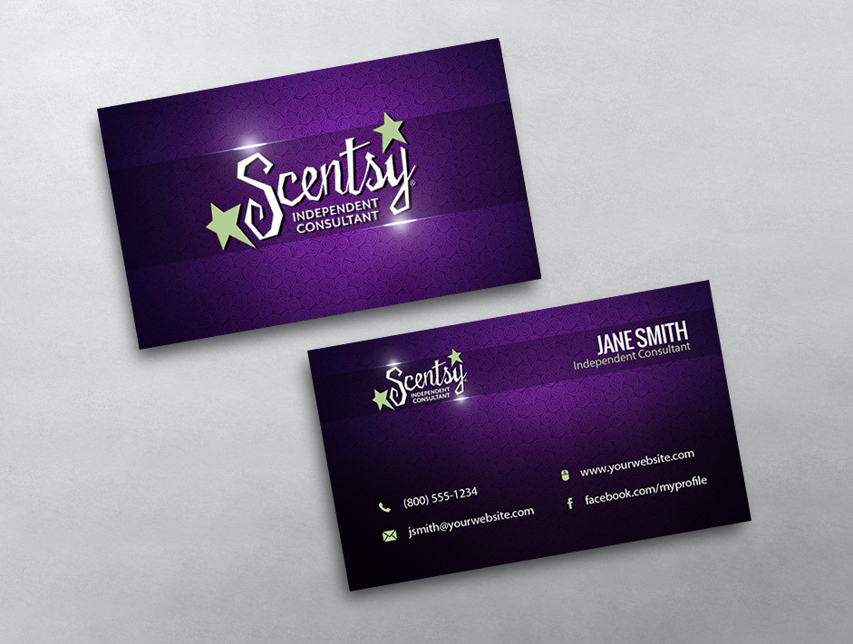 images for scentsy business card template
