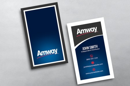 Amway Business Cards   Free Shipping Amway Business Card 13