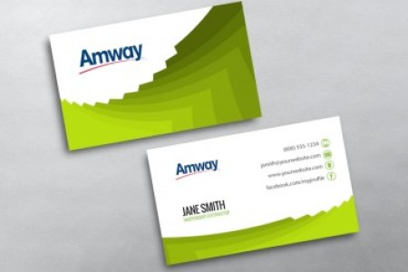 Amway Business Cards   Free Shipping Amway Business Card 17