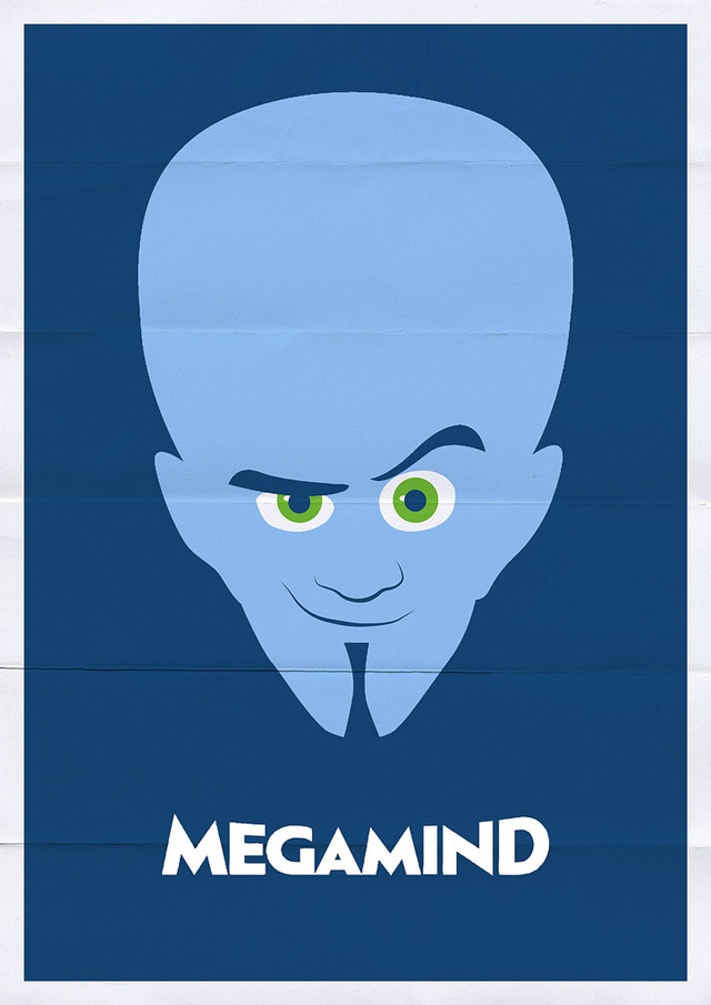 13 Minimal Film Poster Designs By Franco Mathson