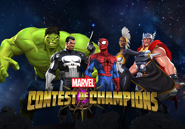 Contest Marvel List Champions