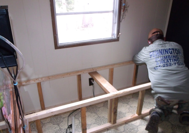 Creating Storage In A Mobile Home With A Window Seat