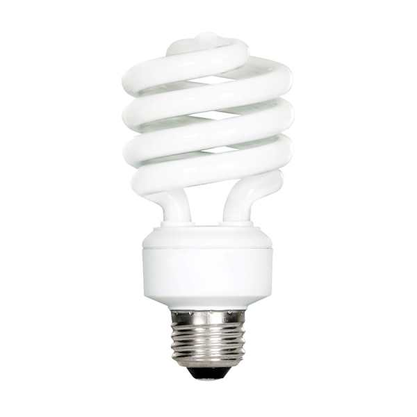 Shop Feit Electric 100 W Equivalent Soft White Spiral CFL Tube Light     Feit Electric 100 W Equivalent Soft White Spiral CFL Tube Light Bulb