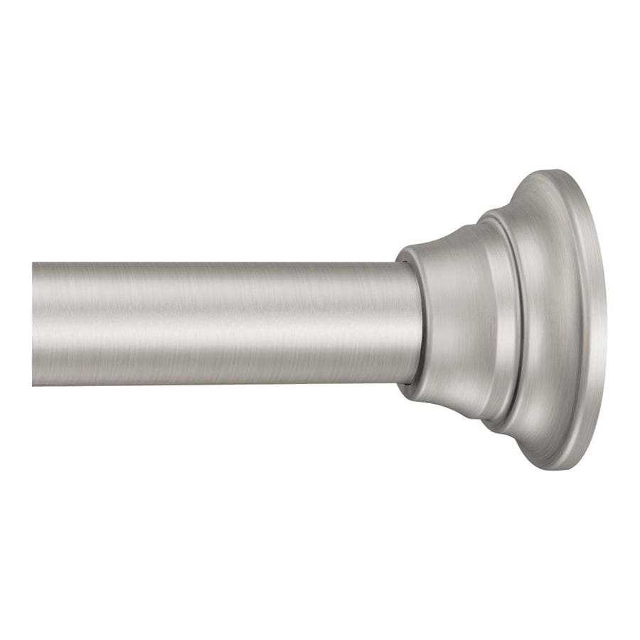 Shower Rod Brushed Nickel