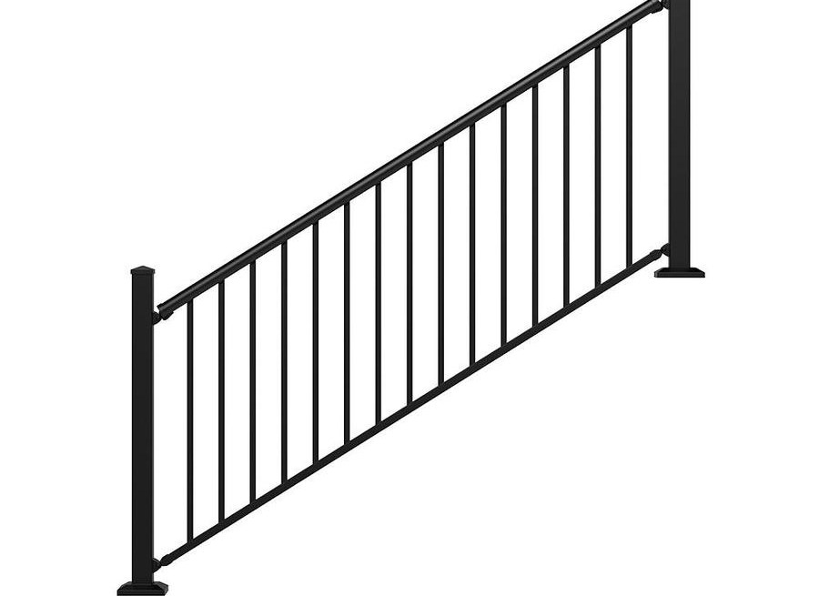 Stair Rail Deck Railing At Lowes Com   Railings For Brick Steps   Steel Handrail   Front Door   Staircase   Railing Ideas   Handrails