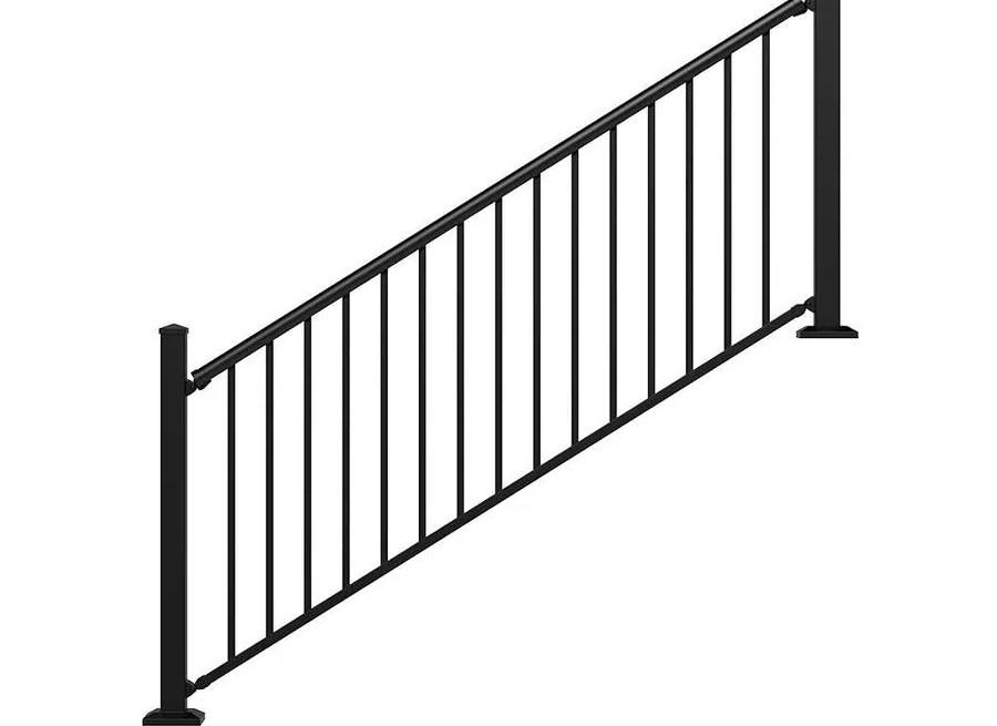 Stair Rail Deck Railing At Lowes Com | Railings For Outside Steps | Inexpensive Exterior Hand | Hand | Custom | Vinyl | 5 Step