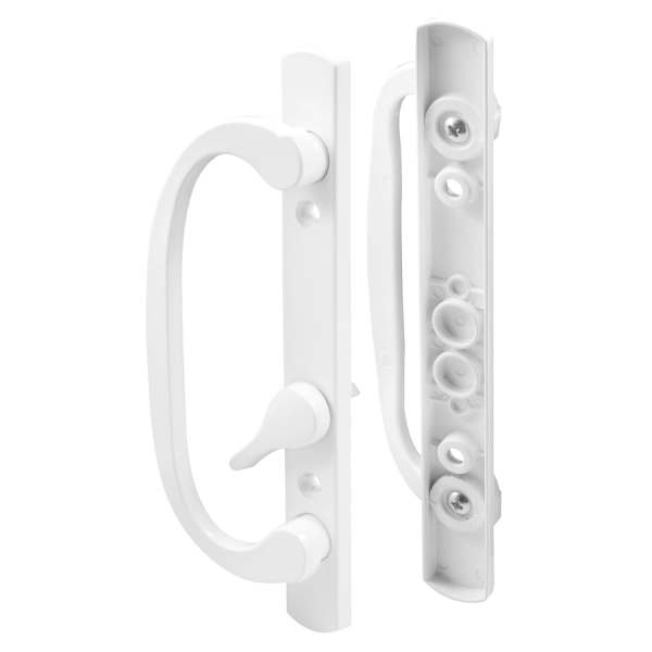 Shop Sliding Patio Door Hardware at Lowes com Prime Line 3 93 in Surface Mounted Sliding Patio Door Handle