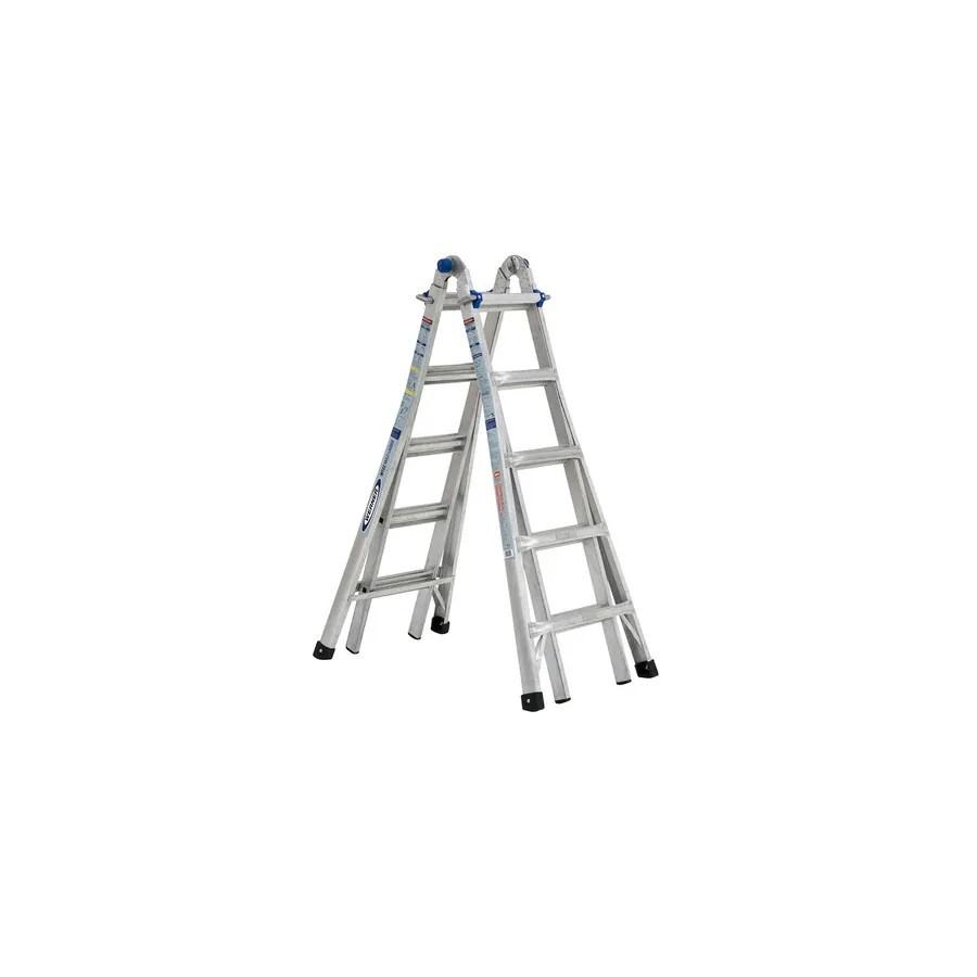 Ia Ft Position Telescoping Aluminum Ladder Multi Type 300 17 Werner Lb