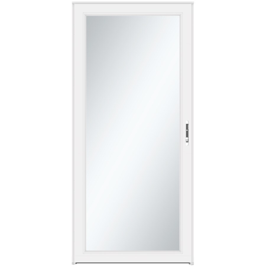 Shop Larson Signature Classic White Full View Aluminum