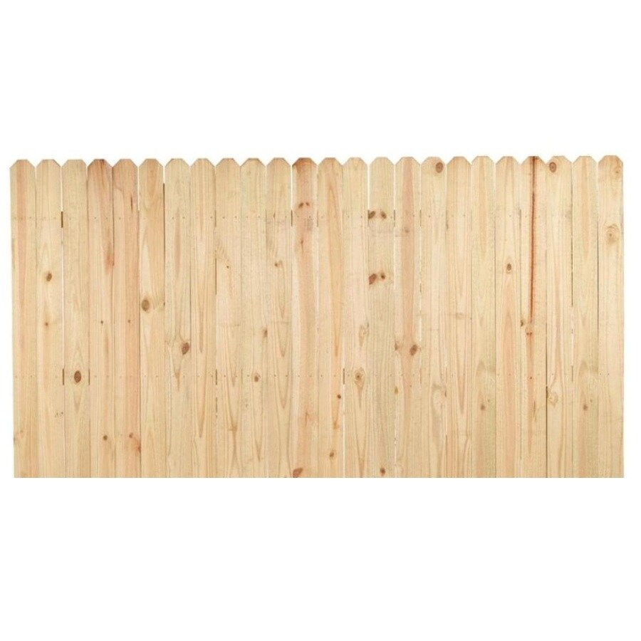 Severe Weather Actual 4 Ft X 8 Ft Pressure Treated Pine