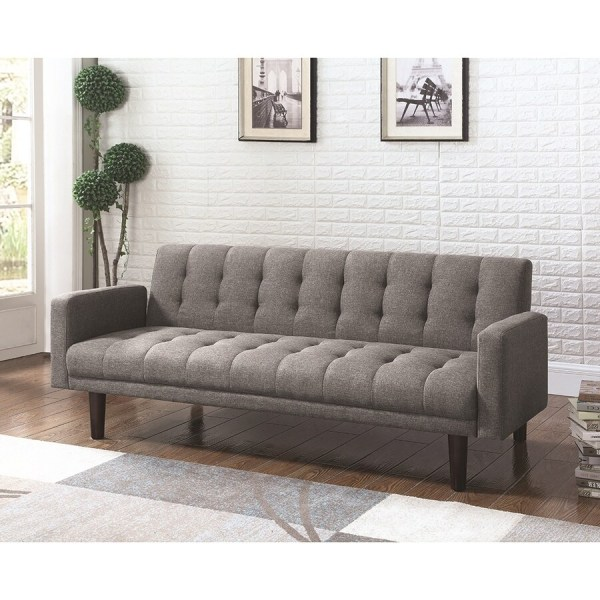 Shop Scott Living Gray Sofa Bed at Lowes com Scott Living Gray Sofa Bed
