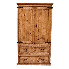 Shop Armoires at Lowes com Million Dollar Rustic Rustic Armoire