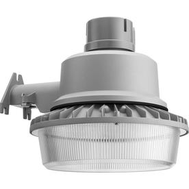 Shop Dusk to Dawn Flood Lights at Lowes com Lithonia Lighting 1 Head Gray LED Area Light