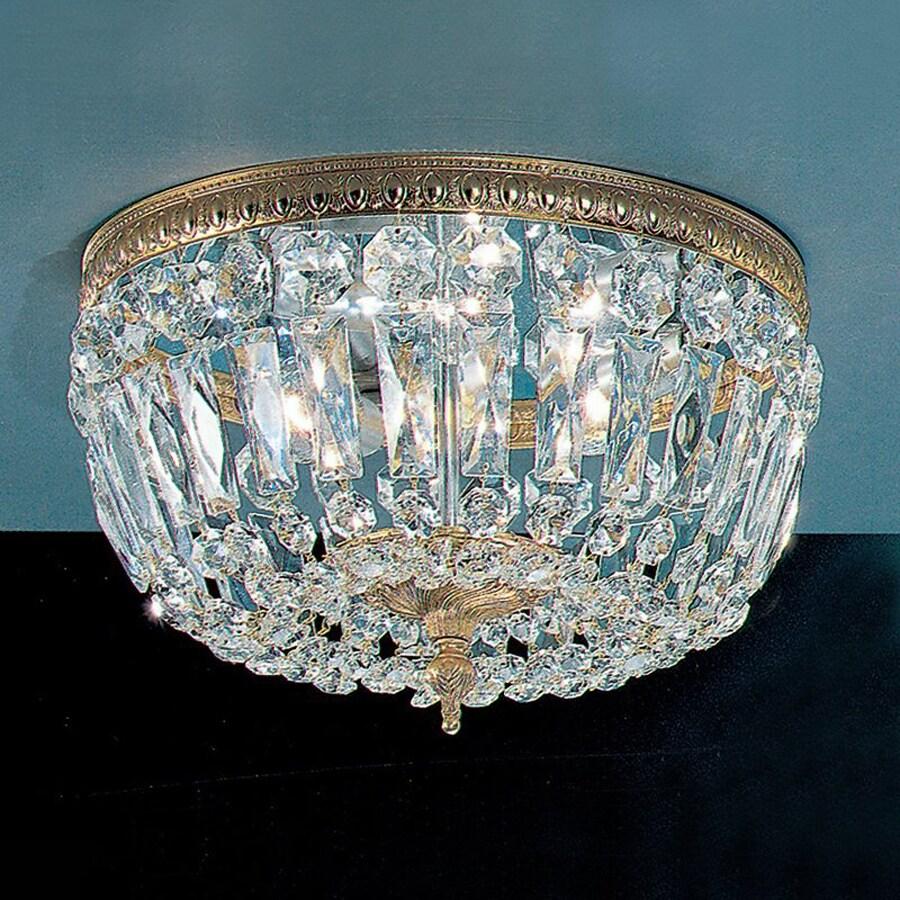 Flush Mount Crystal Light