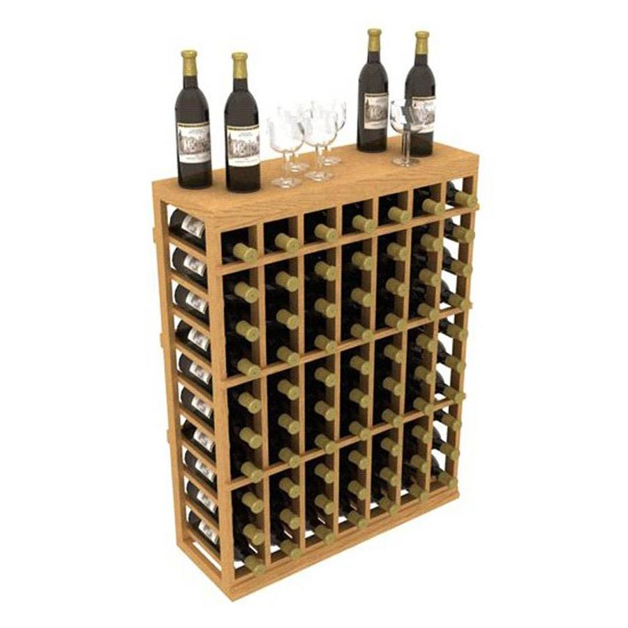 Ironwine Cellars Stackables 70 Bottle Mahogany