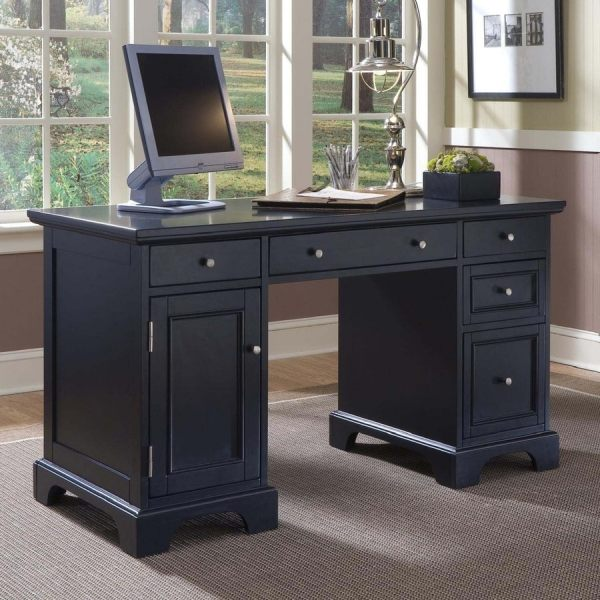 Shop Home Styles Bedford Transitional Computer Desk at Lowes com Home Styles Bedford Transitional Computer Desk