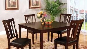 Shop Furniture Of America Bridgette Espresso Dining Set