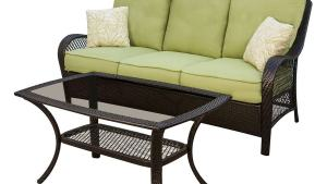 Shop Hanover Outdoor Furniture Orleans 2 Piece Wicker