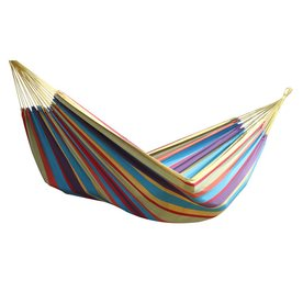 Shop Hammocks at Lowes com Vivere Brazilian Style Tropical Fabric Hammock