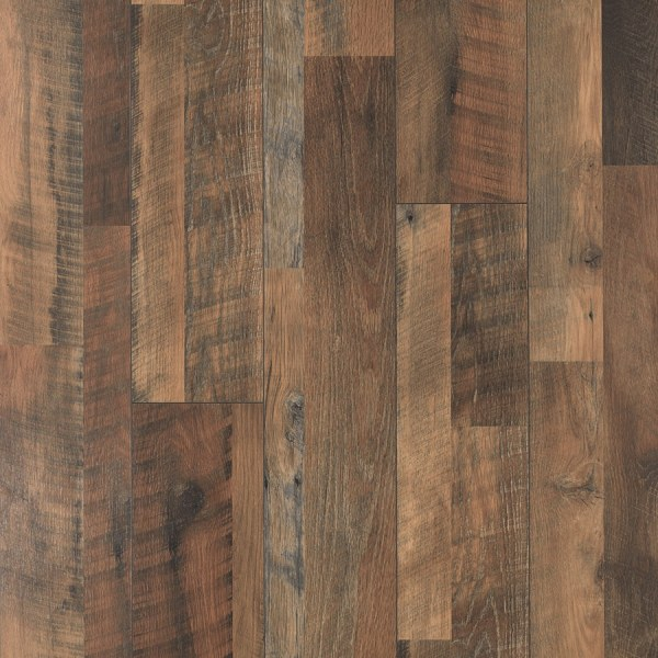 Shop Laminate Flooring at Lowes com Pergo MAX River Road Oak 7 48 in W x 3 93 ft L Embossed Wood